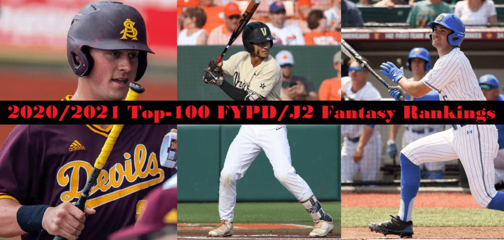 2020/2021 Top-100 FYPD & J2 Fantasy Rankings
