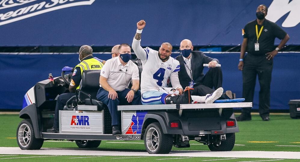 NFL Injury Report Dak Prescott