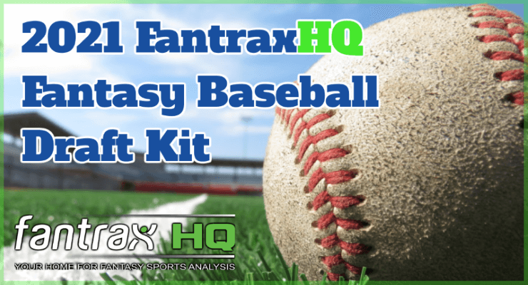 2021 FantraxHQ Fantasy Baseball Draft Kit