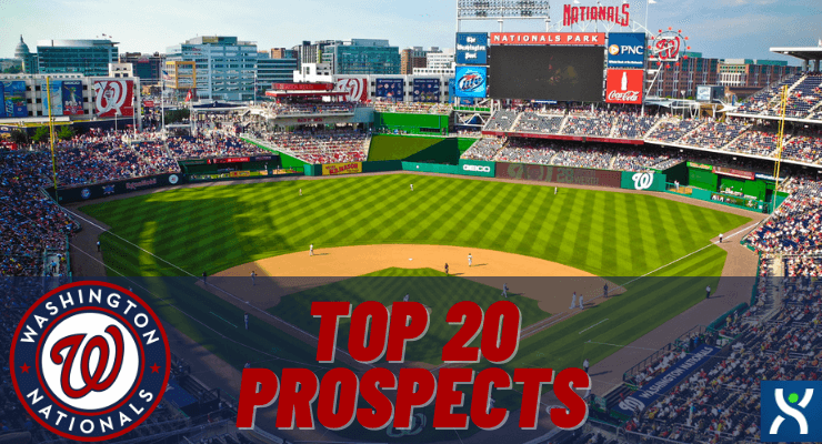 Washington Nationals Top 20 Prospects for 2021