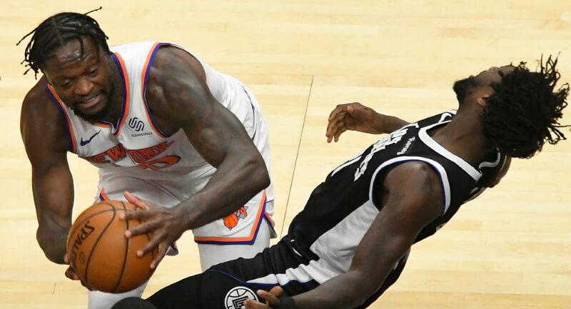 NBA DFS Julius Randle Fantasy Basketball Overachievers