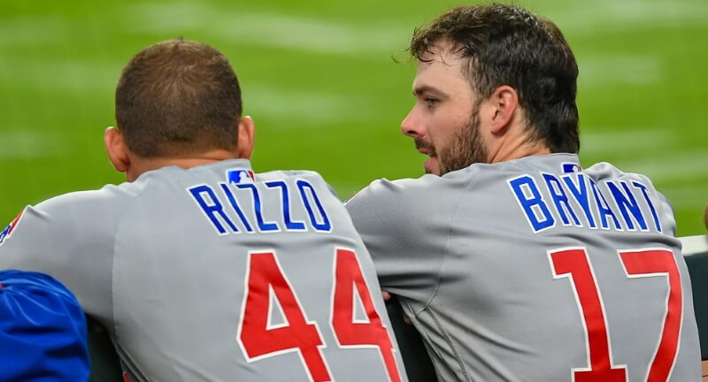 Anthony Rizzo Kris Bryant MLB DFS