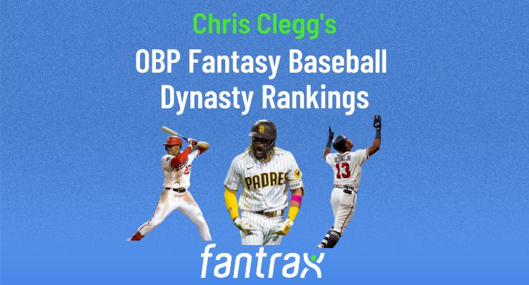 Top-500 OBP Fantasy Baseball Dynasty Rankings: September 2021