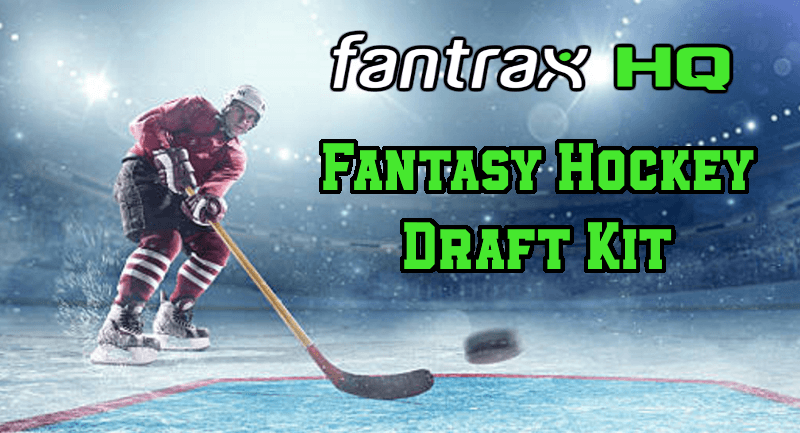 2021-22 FantraxHQ Fantasy Hockey Draft Kit