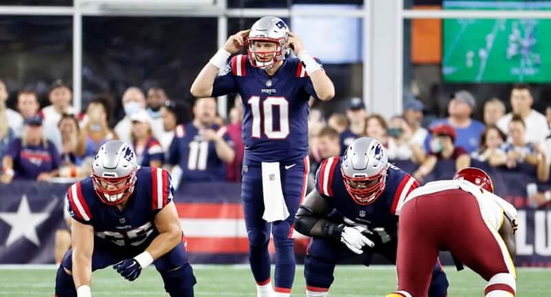 Mac Jones 2021 Patriots Offense